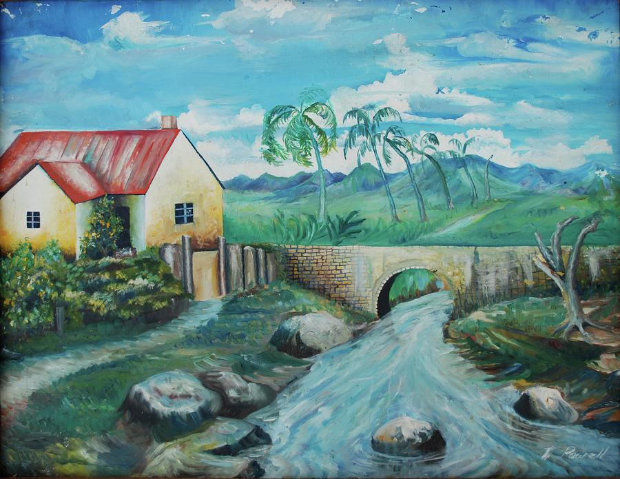 Landscape Painting Painting - Plantation 1 by John Powell