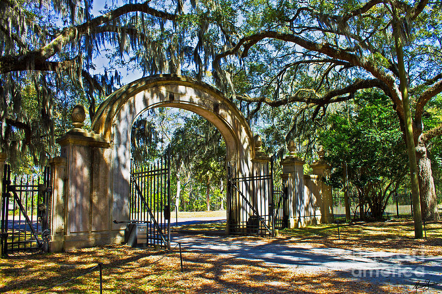 Plantation Gate by Melissa Sherbon