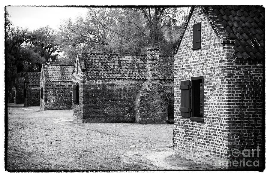 Quarters Photograph - Plantation Quarters by John Rizzuto