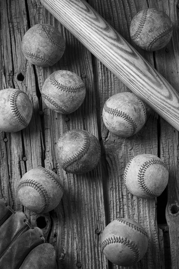 Baseball Memories Photograph - Play Ball by Garry Gay