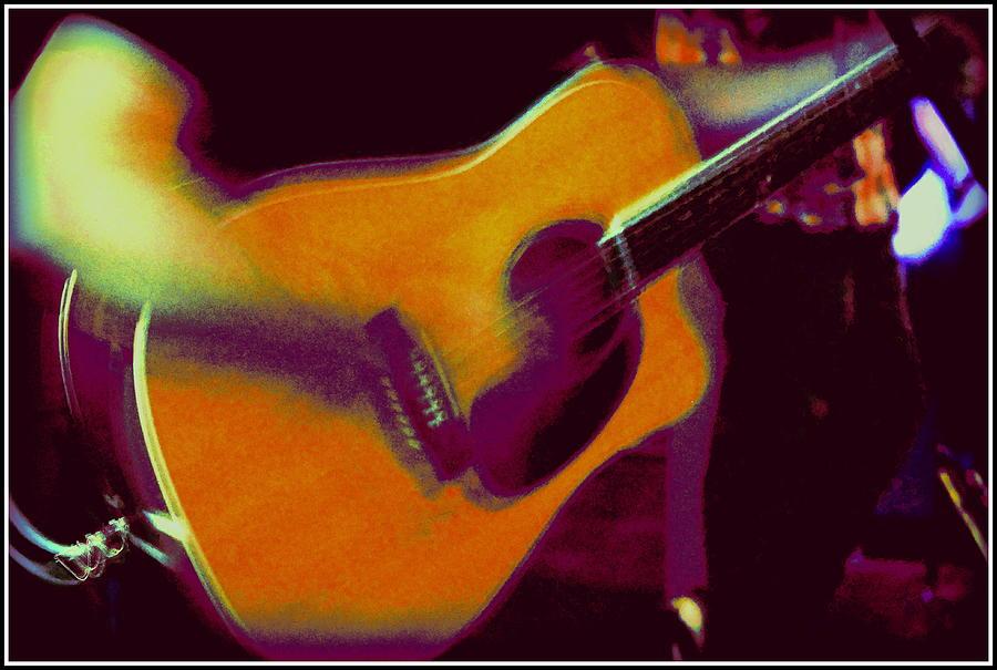 Music Photograph - Play That Guitar by Greg Thiemeyer