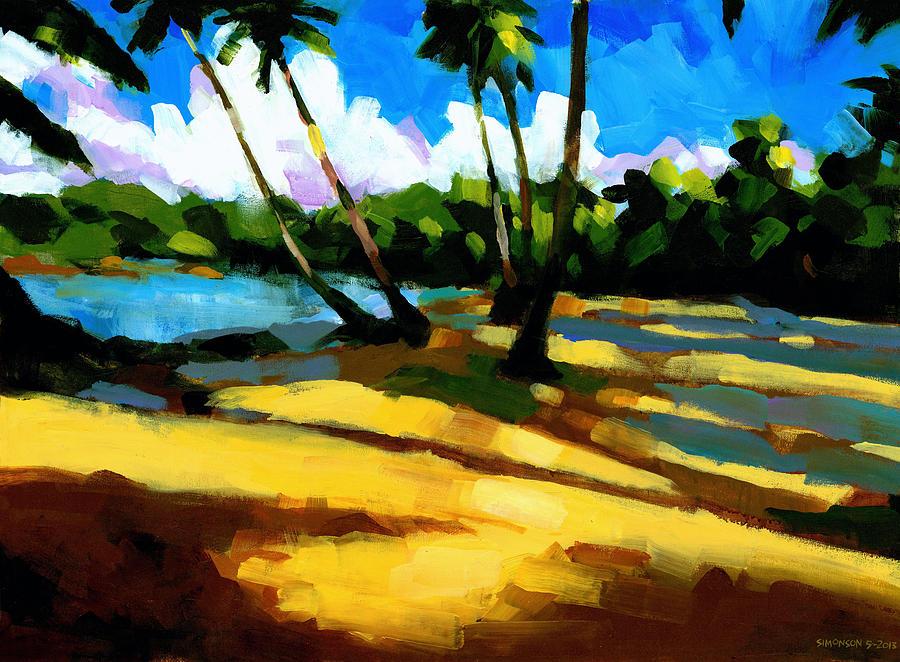 Beach Painting - Playa Bonita 2 by Douglas Simonson