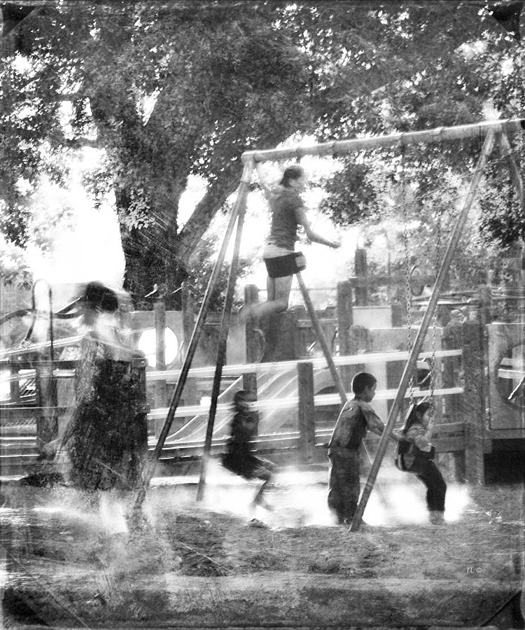 Play Photograph - Playground by Theresa Tahara
