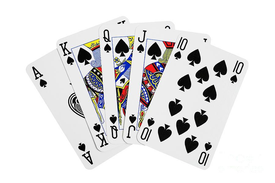 Image result for royal flush card