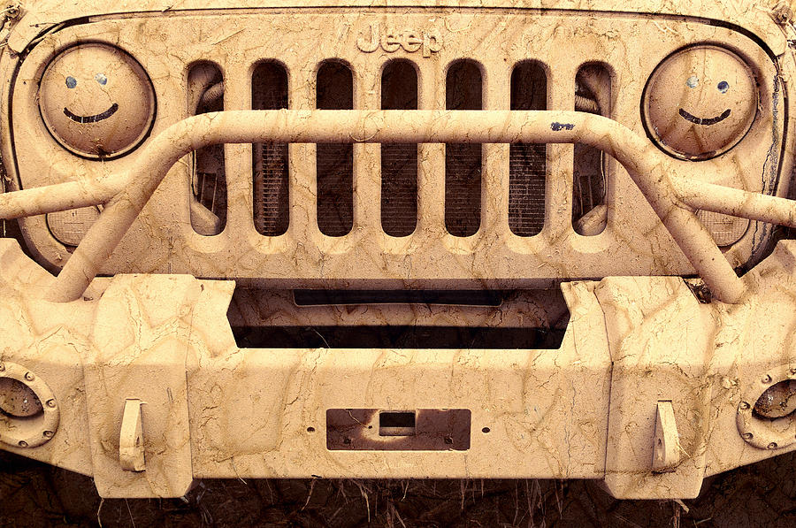 Jeep Photograph - Playing Dirty by Luke Moore