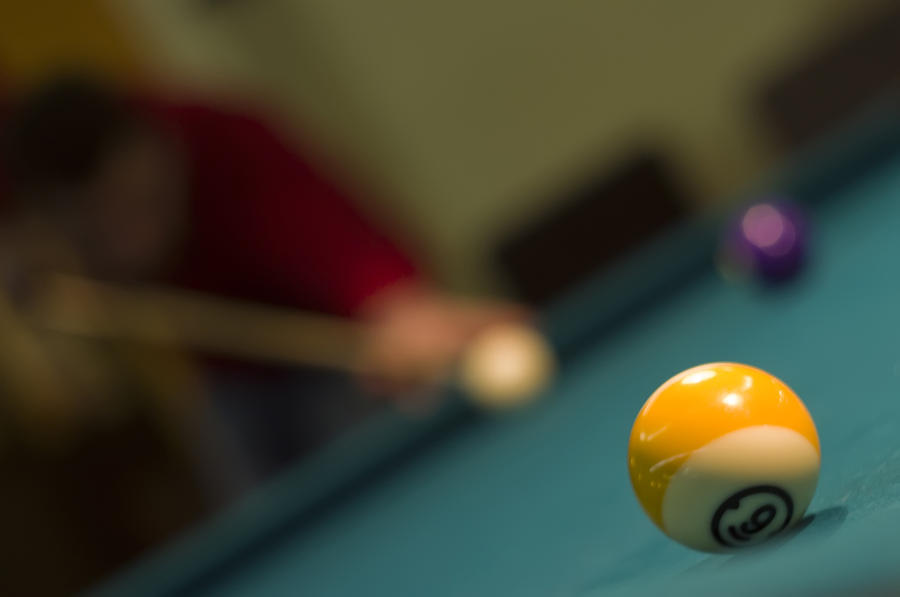 Ball Photograph - Playing Pool by Ioan Panaite