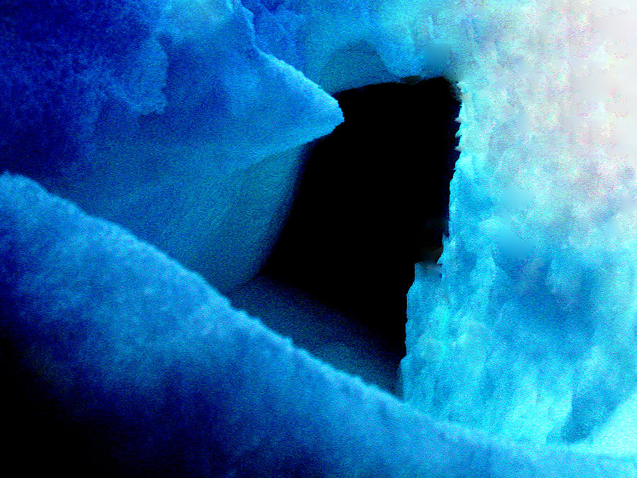 Colette Photograph - Playing With The Snow And Ice Kappl Mountain Austria  by Colette V Hera  Guggenheim