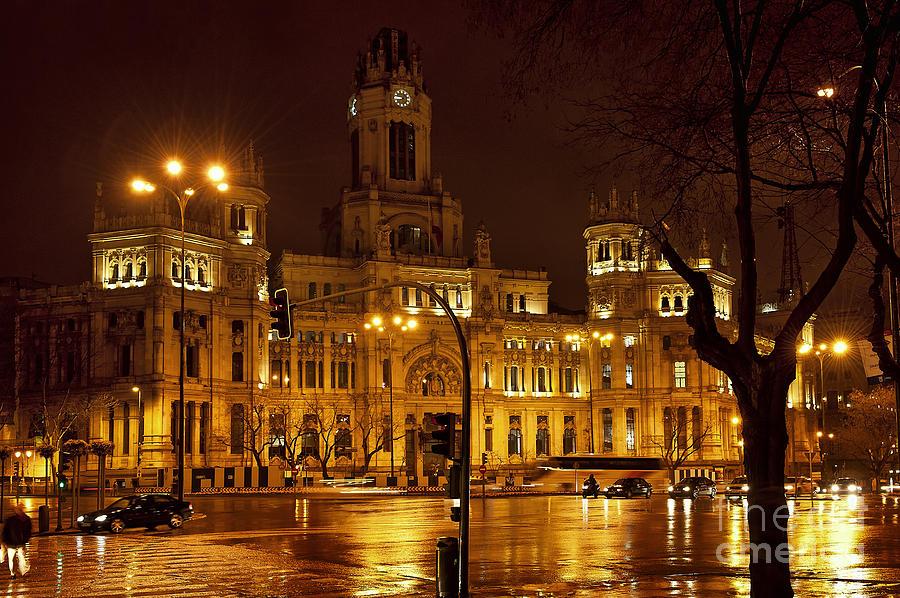Plaza De La Cibeles Photograph