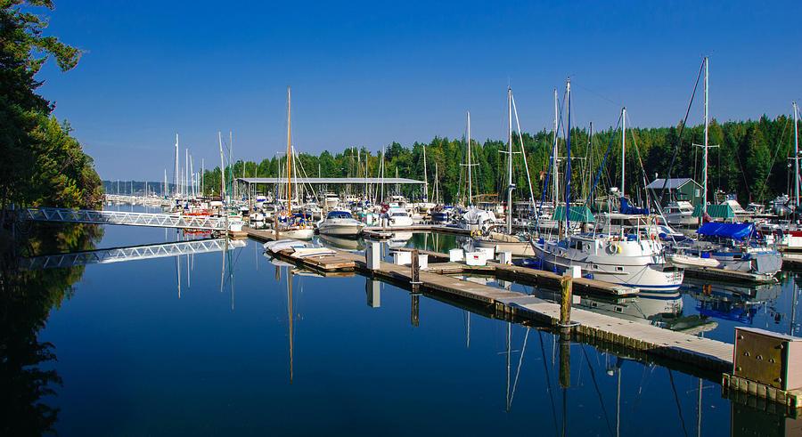 Harbor Photograph - Pleasant Harbor by Mark Bowmer