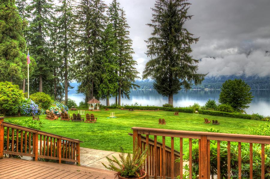 Lake Photograph - Please Take Me Back by Heidi Smith
