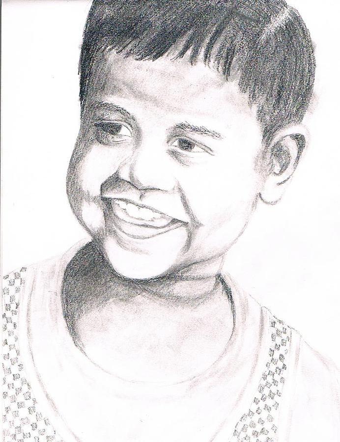 Child Drawing - Pleasurable by Bindu N