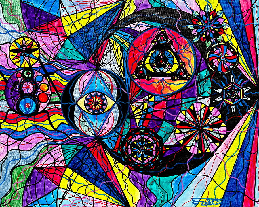 Pleiades Painting - Pleiades by Teal Eye  Print Store