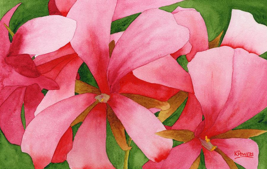 Plein Air Flowers by Ken Powers