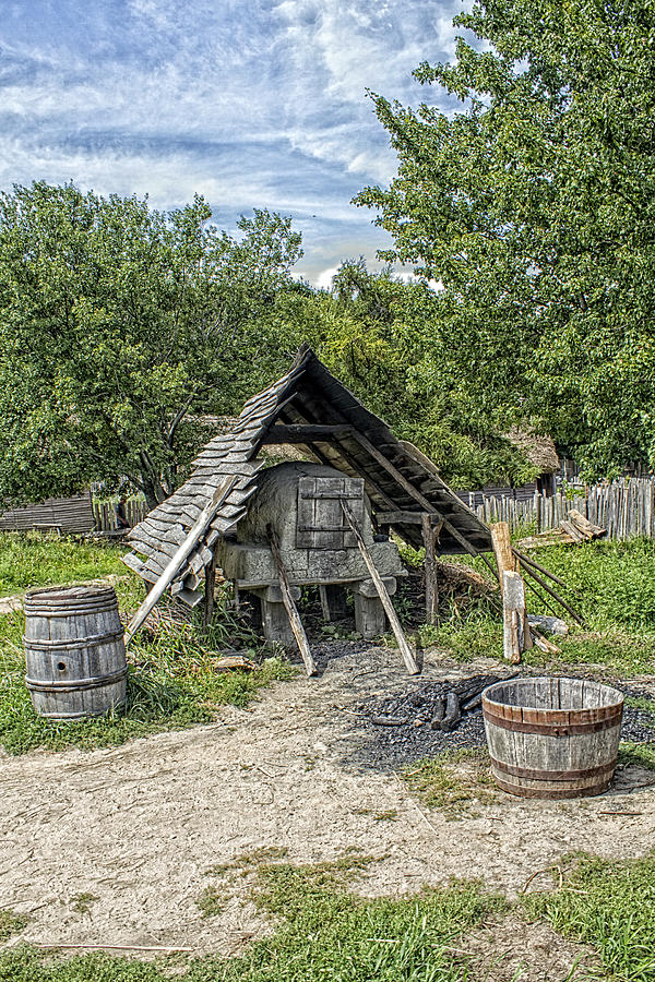 Plimoth Plantation Community Oven Photograph by ...