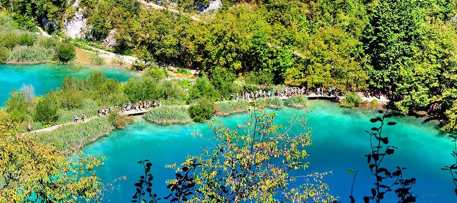 Lakes Photograph - Plitvice Lakes Croatia by Julia Fine Art And Photography