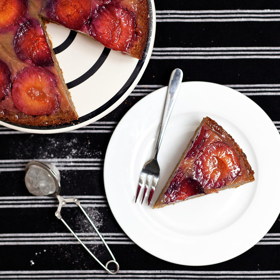 Plum & Ginger Cake Photograph by Image By Susan Orr Photography
