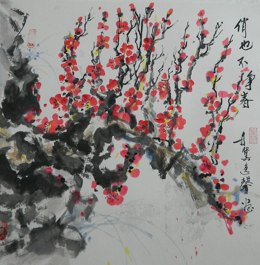 Plum Blossom by Min Wang