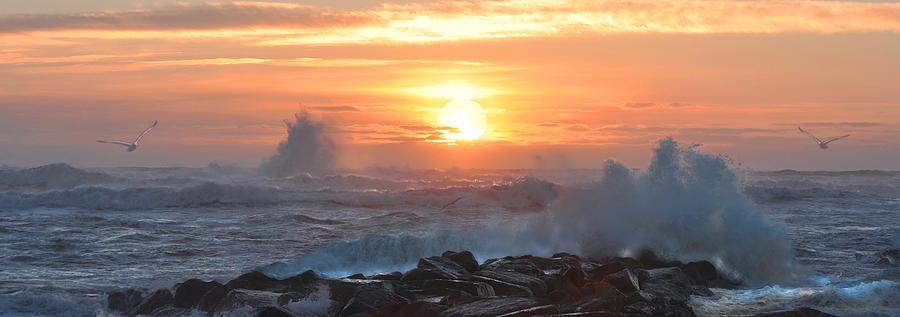 Plum Island Photograph - Plum Island Sunrise by John Brown