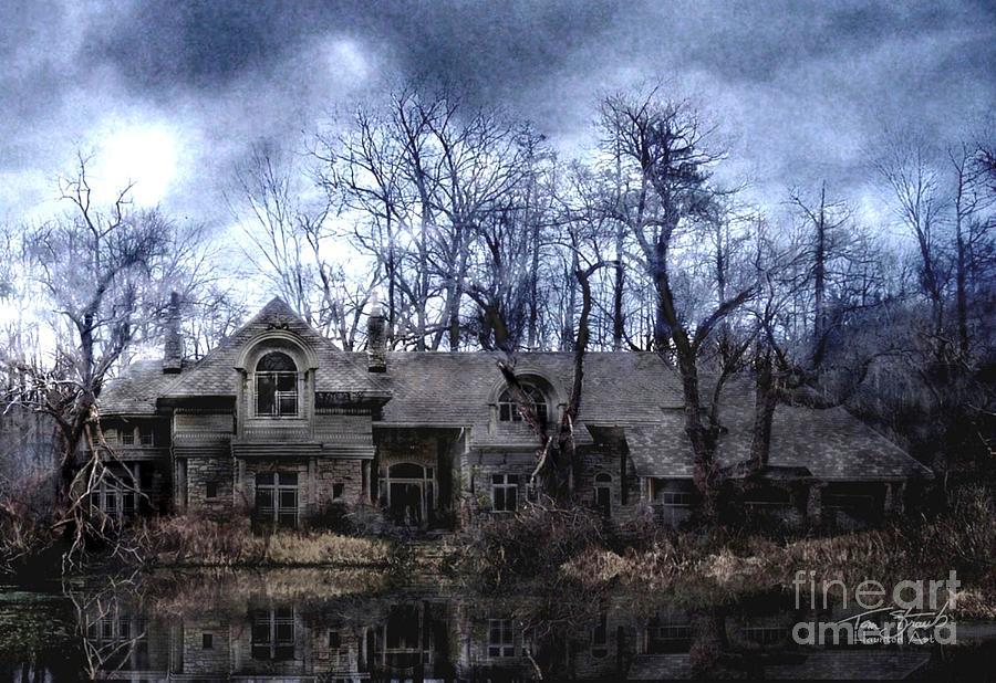 Deserted Photograph - Plunkett Mansion by Tom Straub