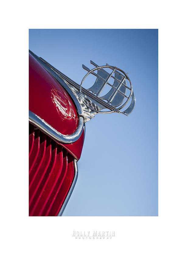 Antique Automobile Photograph - Plymouth by Holly Martin