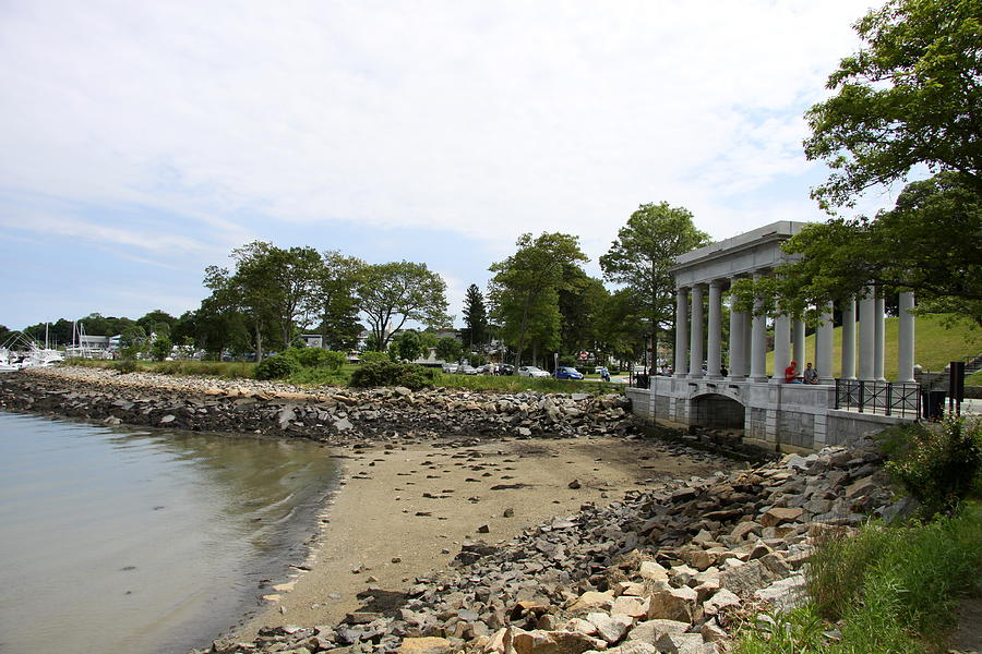 Plymouth Photograph - Plymouth Rock Monument by Christiane Schulze Art And Photography