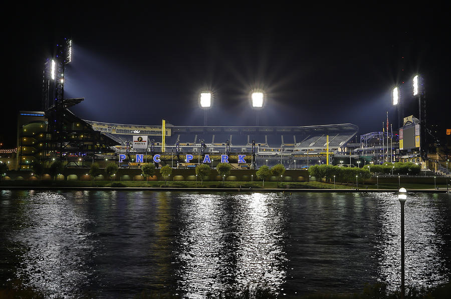 Pnc At Night. Photograph by Jimmy Taaffe