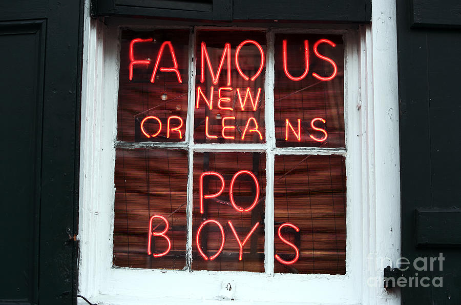 New Orleans Photograph - Po Boys by John Rizzuto