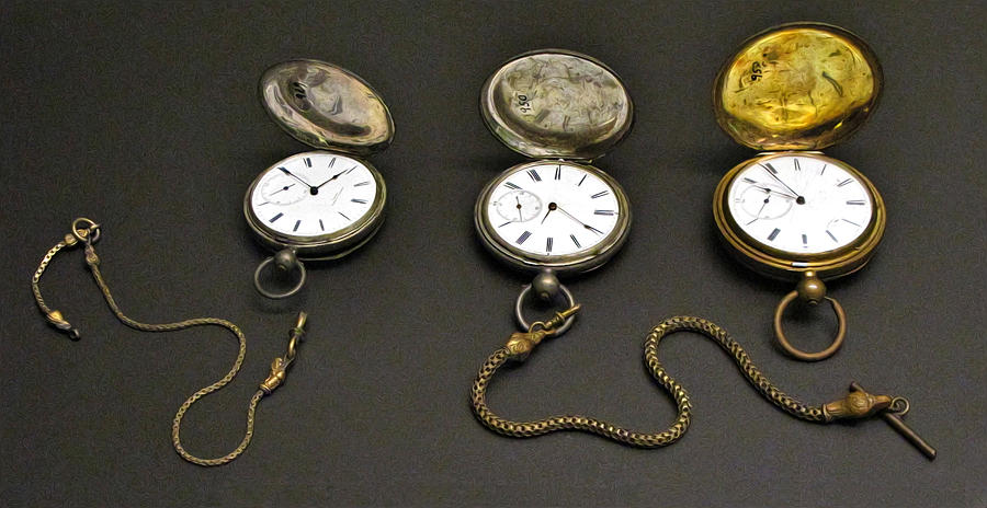 Pocket Watch Photograph - Pocket Watches by Dave Mills