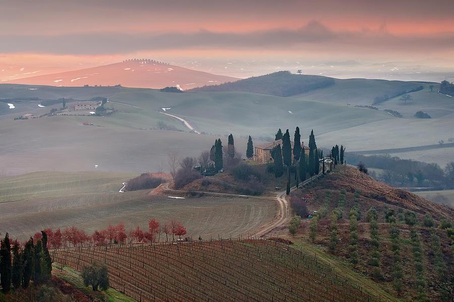 Podere Belvedere Photograph by Photographer  Renzi Tommaso  Tommyre00@hotmail.it