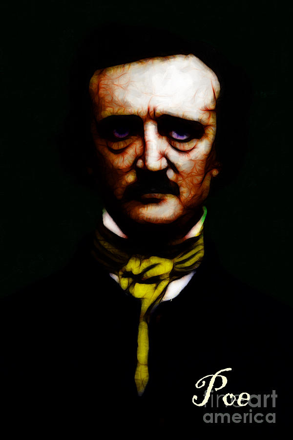 Edgar Photograph - Poe by Wingsdomain Art and Photography