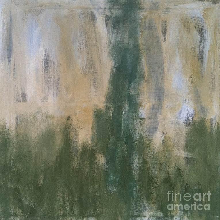 Freydoon Rassouli Painting - Poetry in Green by Bebe Brookman