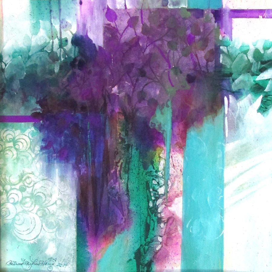 Colorful Painting - Poetry Is Painting by Patricia Mayhew Hamm