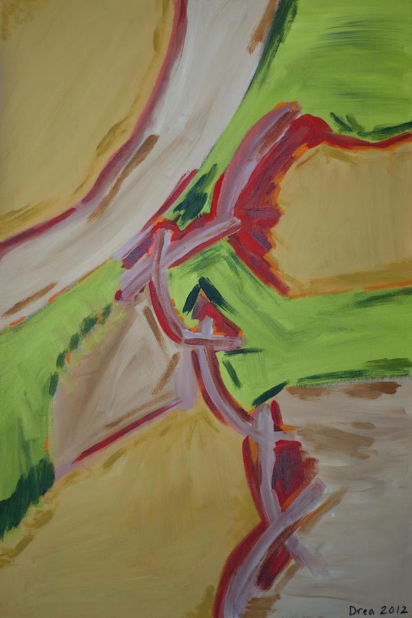 Spirit Painting - Poignant 2012 by Drea Jensen