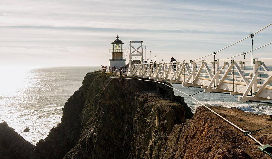 California Photograph - Point Bonita Lighthouse by Georgia Fowler