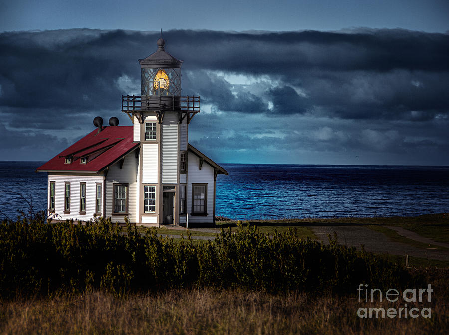 Point Cabrillo Lighthouse by Paul Gillham