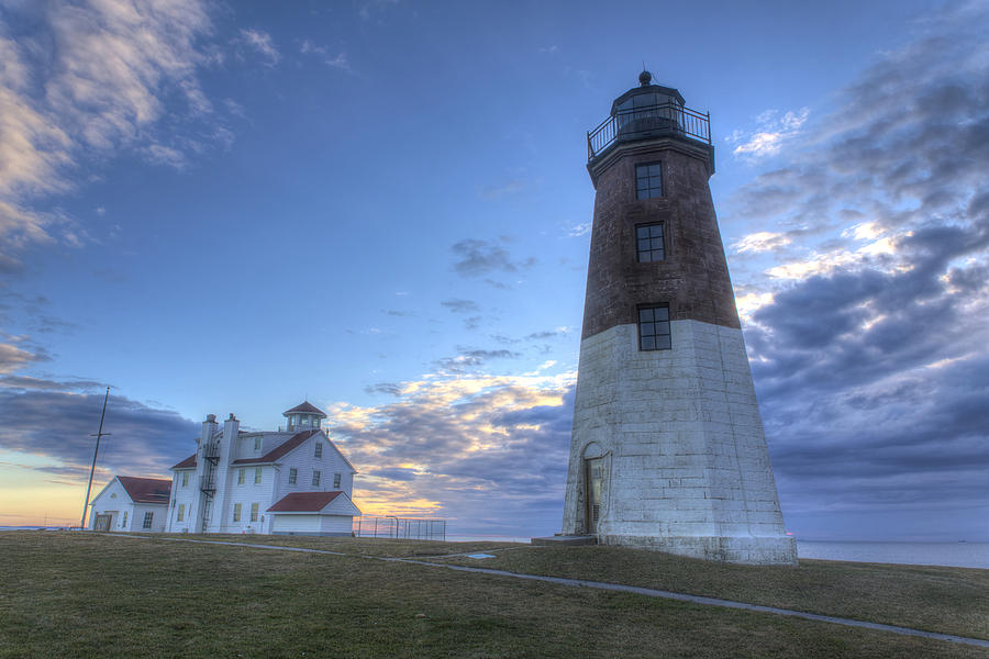 Point Judith Lighthouse Photograph By Jeff Bord