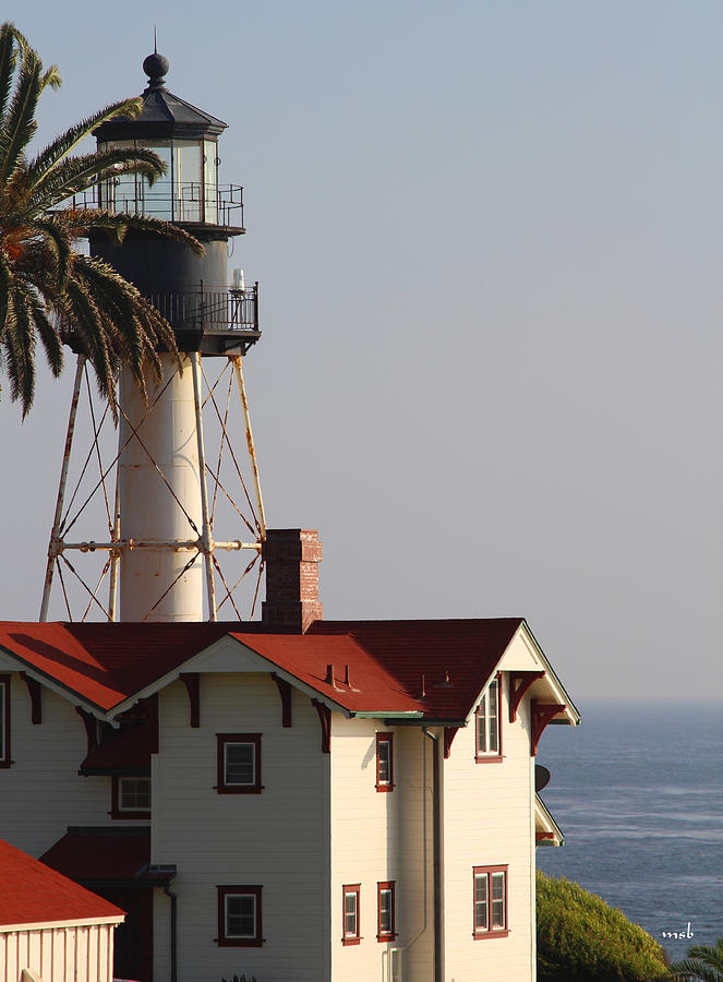 Landscape Photograph - Point Loma California Lighthouse by Mark Steven Burhart