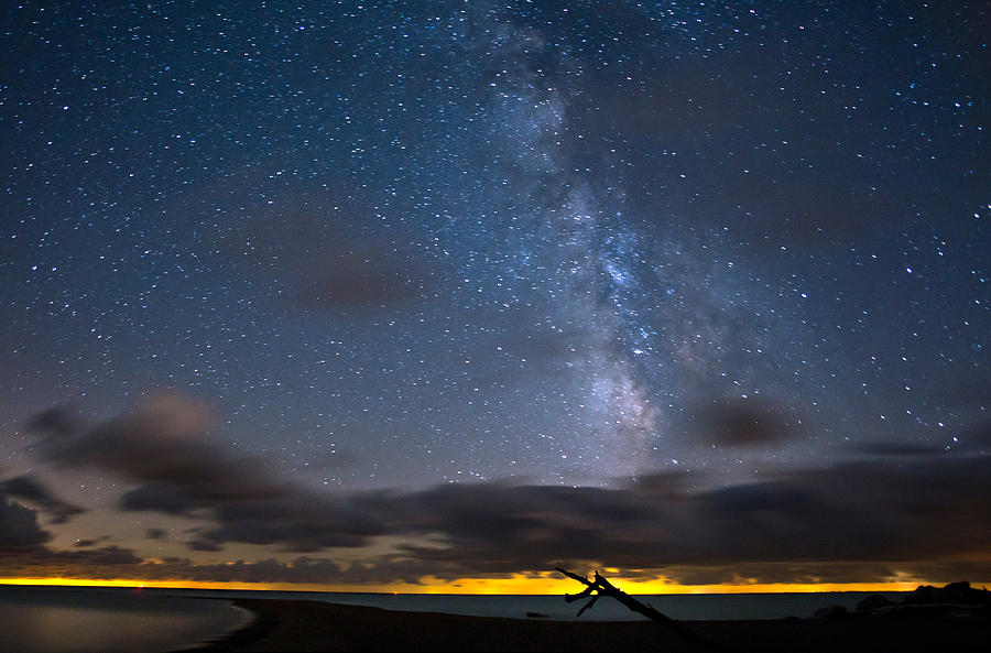 Milky Way Photograph - Point Pelee Milky Way by Cale Best