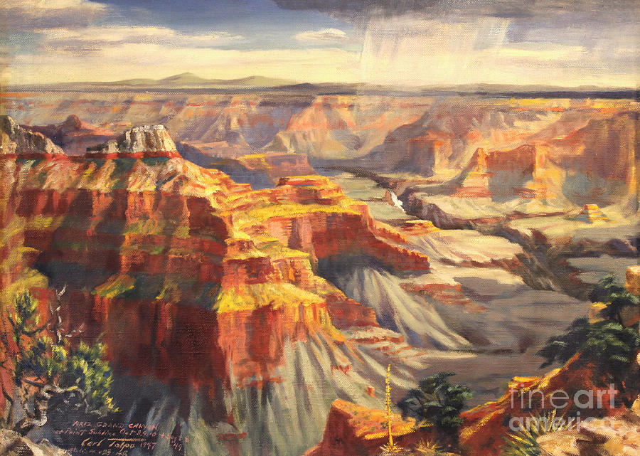 Point Sublime - Grand Canyon AZ. by Art By Tolpo Collection