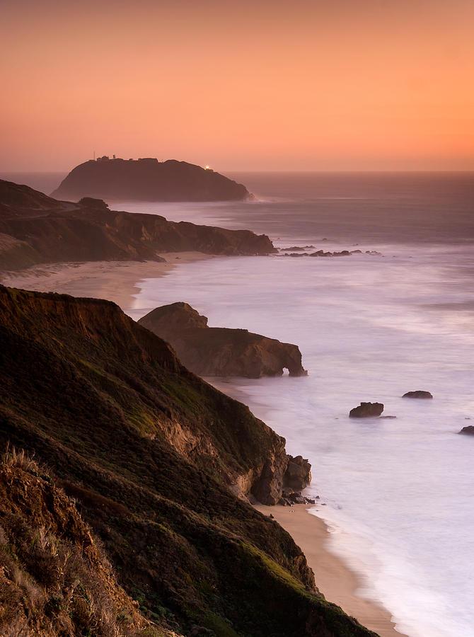 Big Sur Photograph - Point Sur Lighthouse by Alexis Birkill