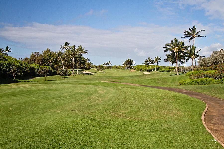 Golf Photograph - Poipu Bay #1 by Scott Pellegrin