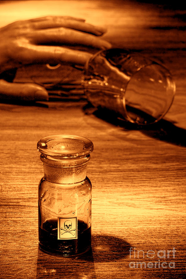 Poison Photograph - Poisoning by Olivier Le Queinec