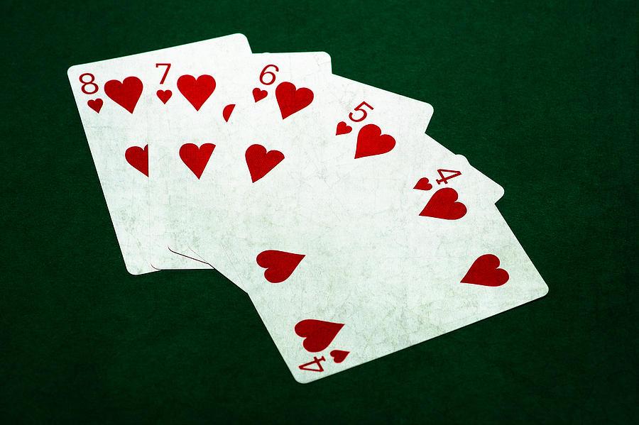 Straight Flush Poker