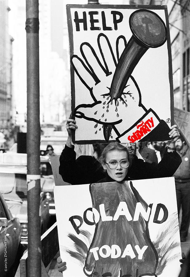 Malinowski Photograph - Poland Help by Zygmunt Malinowski
