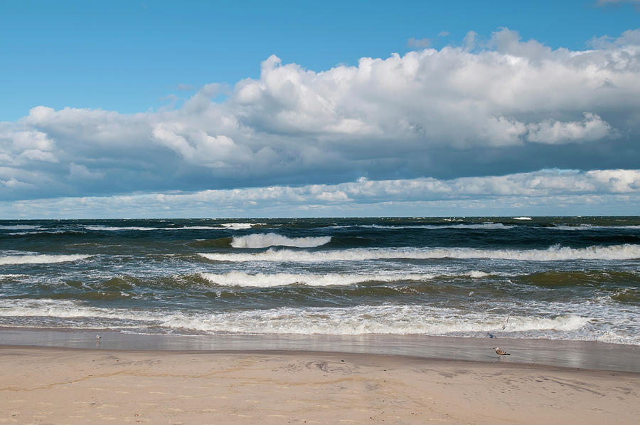 Poland, View Of Baltic Sea In Autumn At Photograph by Westend61