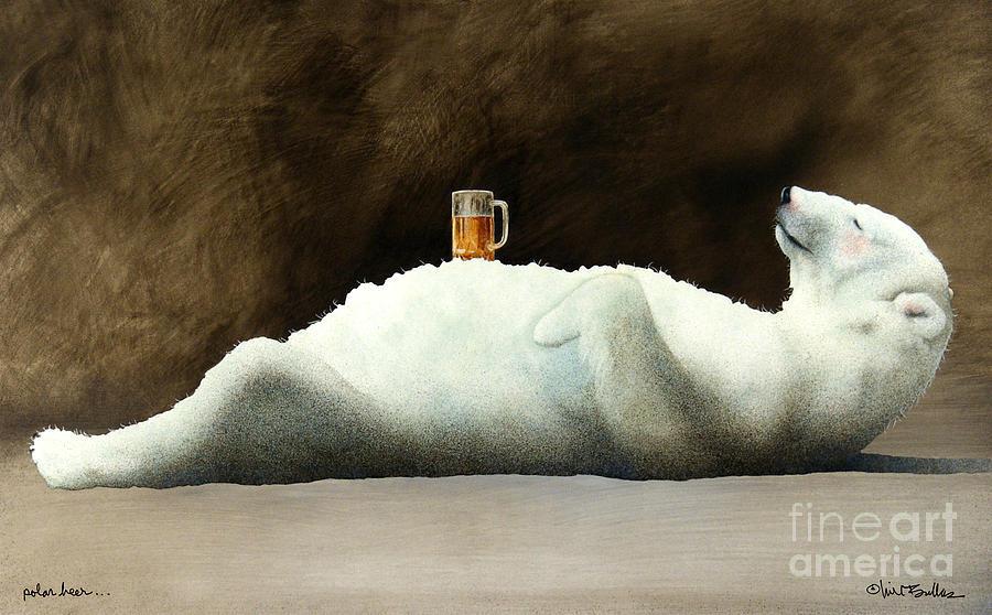 Will Bullas Painting - Polar Beer... by Will Bullas