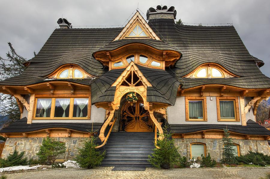 Polish Mountain House Patrycja Polechonska on Mountain Cottage House Plans