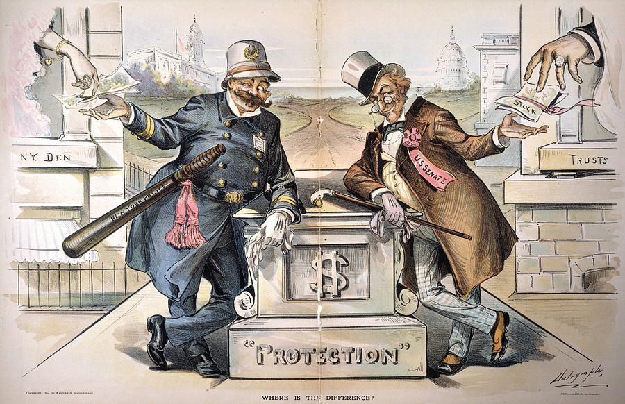 1894 Painting - Political Corruption, 1894 by Granger