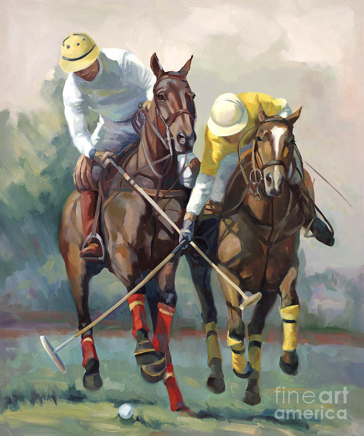 Polo Paintings Canvas