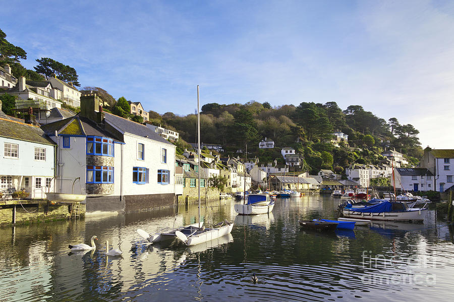 Boats Photograph - Polperro Cornwall England by Colin and Linda McKie